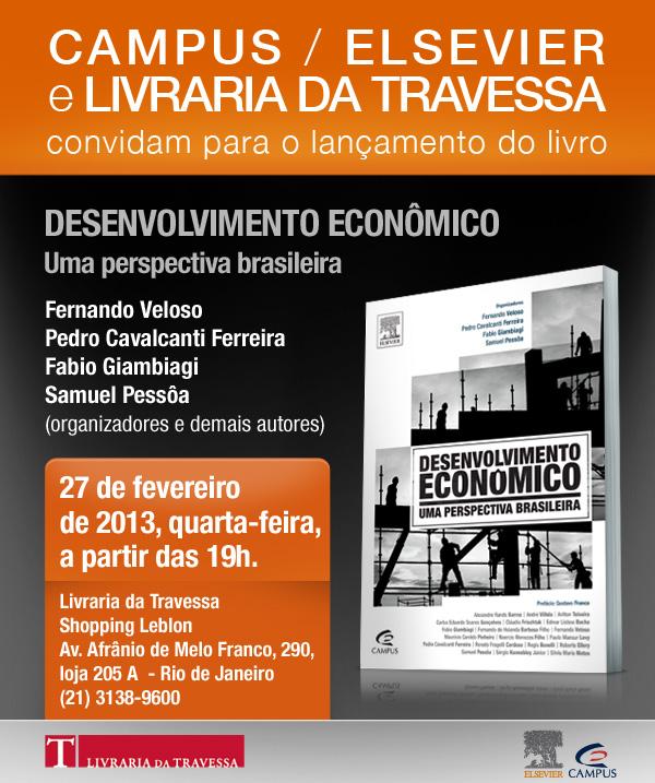 Desenvolvimento ecônomico | Uma perspectiva brasileira