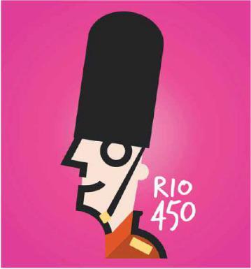REINO UNIDO LANÇA MARCA EM HOMENAGEM AO RIO 450