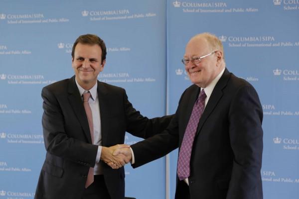 Rio e Columbia University firmam parceria para criação de Centro de Inovação e Desenvolvimento de soluções para problemas urbanos