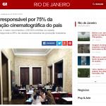 G1 – Rio é responsável por 75% da produção cinematográfica do país