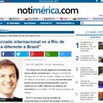 Notiamérica – El mercado internacional ve a Río de manera diferente a Brasil