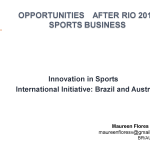 Opportunities after Rio 2016 – Sports Business