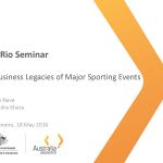 Business Legacies of Major Sporting Events