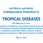 Australia and Brazil Collaborative Potential in Tropical Diseases